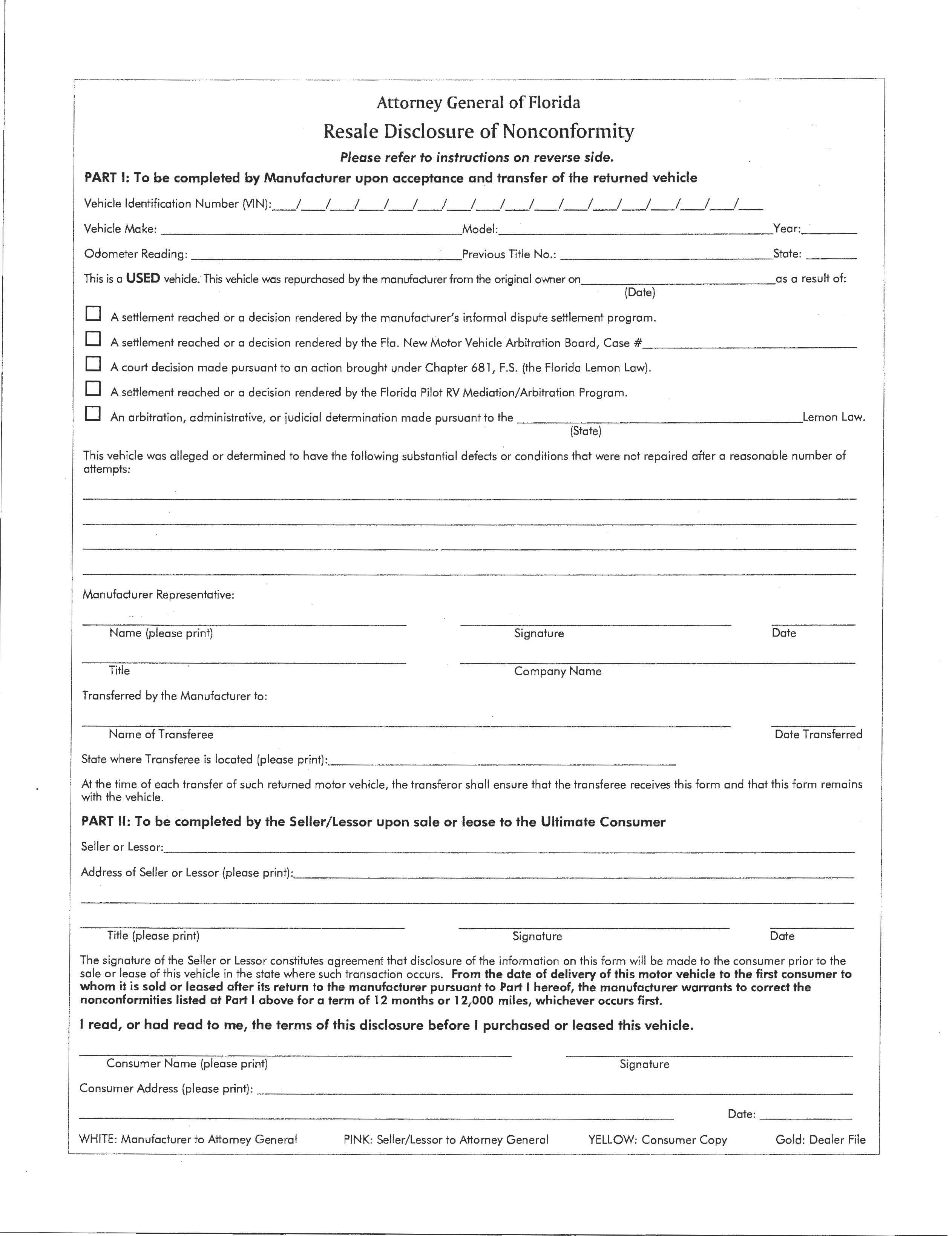 Lemon Law For Recreational Vehicles – Florida RV Trade